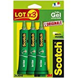 Scotch Tube de Colle Gel Universelle 30 ml, Lot de 3