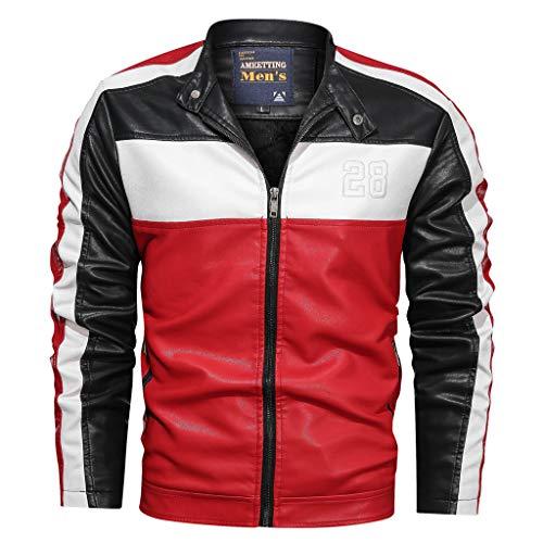 Biker Kleiner Junge Kostüm - R-Cors Herren Jeans Hemd Freizeithemd Biker Jacke Weste Destroyed Verwaschen Vintage Langarm Kurzarm