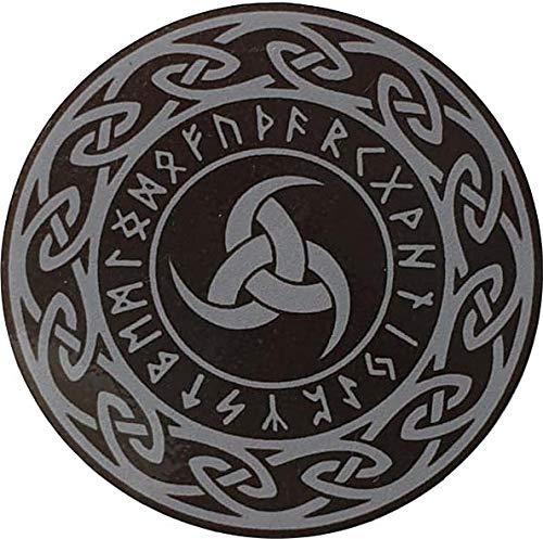 OTA Aufkleber Triskele Wikinger Rune Triple Horn of Odin Old Norse Leistungsstarkes Symbol Auto Fenster Truck Motorrad Chopper Van SUV PPV Scrapbook Handy Gehäuse Laptop Tür Helm Gepäck