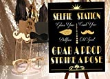 SYGA Photo Booth Props Signage- 18 L x 1...