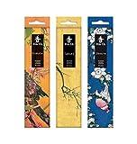 Tierra Zen Set KOH Do Shiraume (Ciruelo, Sakura (Cerezo), Sándalo...