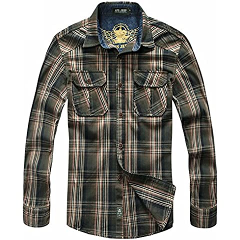 Generic -  Camicia Casual  - A quadri -