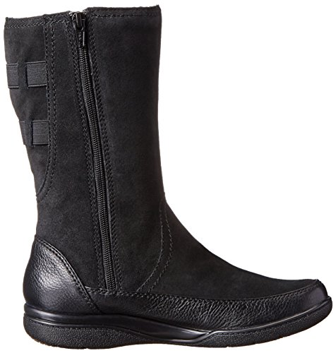 Clarks Kearns flash Boot Black Lined Suede