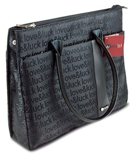 """Damen Business-Tasche für Laptops bis 15"""" – Anti-Shock Umhängetasche / Laptop-Tasche für Büro und Uni – Orig. Damen-Handtaschen & Schulter-Taschen von My1st"""