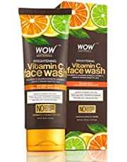 WOW Brightening Vitamin C Face Wash No Parabens Sulphate S