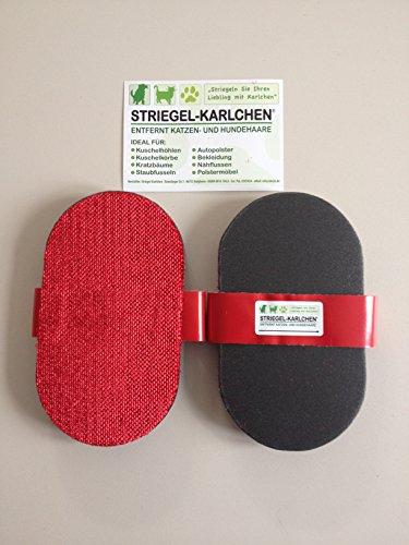 katzeninfo24.de 2 Stück – Striegel-Karlchen Striegelkarlchen – Tierhaarentferner