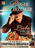 Roger Whittaker - Bielefeld 2009 Konzert-Poster A1