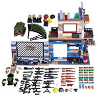 12che Shooting Game DIY Building Block Scene Weapon Building Accessories Kit for Military Minifigure