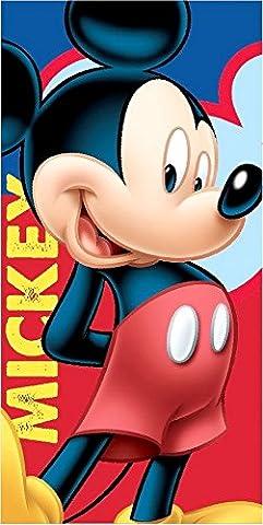 Disney Mickey Mouse serviette de plage/Drap de bain 70x 140cm, original sous licence
