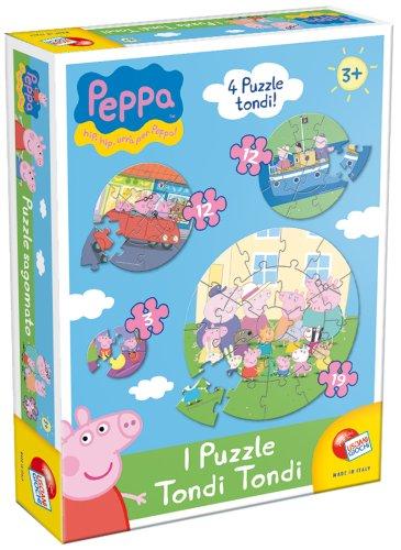 Liscianigiochi 41817 - Peppa Pig Puzzle Tondo Tondo