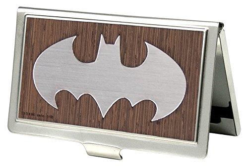Buckle-Down Visitenkartenhalter DC Comics Small Batman Marquetry Black Walnut/Metal -