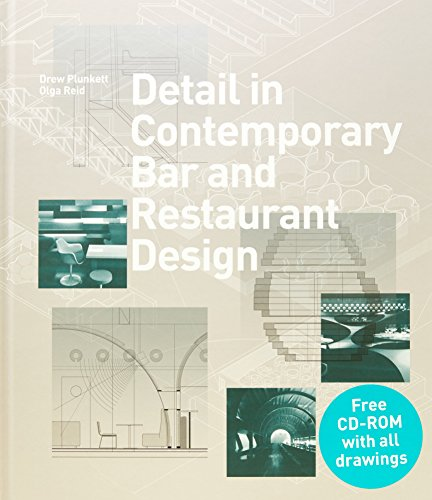Detail in Contemporary Bar and Restaurant Design (Detailing for Interior Design) por Drew Plunkett