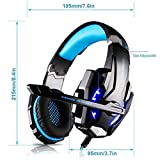 Mr.Gadget Solutions® KOTION EACH G9000 GAMING HEADSET, XBOX ONE, PS4, PC CONTROLLER
