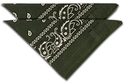 Halstuch Uni rot Vierecktuch 54 x 54 cm Bandana Nikki maritimes Tuch Schal