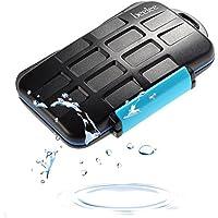 Caso scheda di memoria, Beeiee® Gomma impermeabile sigillato Memory Card Protector Caso Negozi - Contiene 8 schede SD o CF Card 4