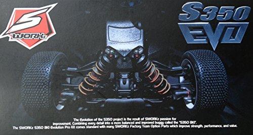 Preisvergleich Produktbild SWORKz SW910018 S350 BK1 EVO 1/8 Off-Road Racing Buggy