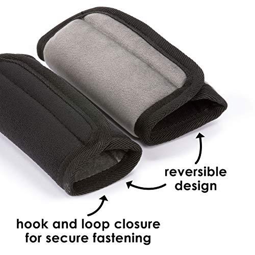 Diono 60250 Soft Wraps, Autositze Zubehör, schwarz - 4