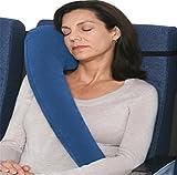Yeying123 Premium Travel Nackenkissen - Beste Kissen Für Flugzeuge, Autos, Züge, Busse, Büro Schlummern (Rolls Klein),Blue