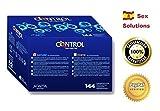CAJA DE 144 PRESERVATIVOS CONDONES CONTROL ADAPTA NATURE ORIGINALES // APTO DUREX PLAY LUBRICANTE // SEX SOLUTIONS