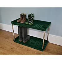 Two Tier Boot Tray - Green