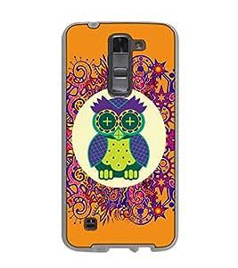Fuson Designer Back Case Cover for LG K7 :: LG K7 Dual SIM :: LG K7 X210 X210DS MS330 :: LG Tribute 5 LS675 (comic character creativity round )