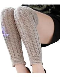 Longues Chaussettes, Reaso Mode féminine hiver chaud Jambières en tricot Crochet