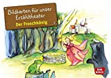 Bildkarten für unser Erzähltheater: Der Froschkönig. Kamishibai Bildkartenset. Märchen. Entdecken. Erzählen. Begreifen