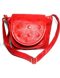 Stylish And Unique Red Sling Bag For Girls And Womens