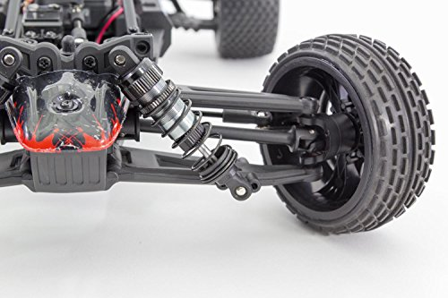 XciteRC 30408000 - Buggy one12 - 4WD RTR Modellauto, schwarze Karosserie Würth Edition - 2