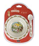 Bunnykins Playing Bunnies Suction Bowl and Spoon Set