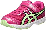 ASICS Unisex Baby GT 1000 4 TS Sneaker, Rosa (Pink Glow/Pistachio / Indigo Blue), 22.5 EU