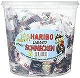 Produkt-Bild: Haribo Lakritz Schnecken 100 Minibeutel, 1er Pack (1 x 1.27 kg)
