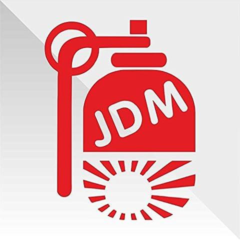 Sticker Bomba Bomb JDM DUB - Decal Cars Motorcycles Helmet Wall Camper Bike Adesivo Adhesive Autocollant Pegatina Aufkleber - cm 32