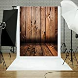 #9: Zibuyu Photography Background,Thin Wood Grain Photo Background Cloth Photographic Backdrops Props
