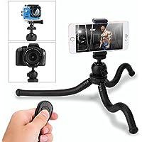 Trípode para móvil,HOVNEE-BL-01 Trípode Flexible con Control Remoto Bluetooth, Soporte de la cámara y del móvil.para la mayoría de las cámaras de teléfonos celulares ,la vida diaria / Escuela / Viaje