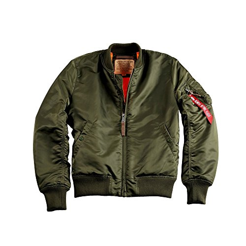 Alpha Industries Herren Bomberjacke oliv XL