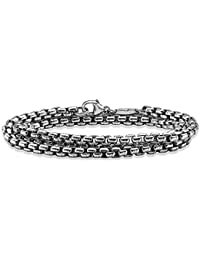 Thomas Sabo Homme Argent Bracelet en chaîne - KE1110-001-12-L90