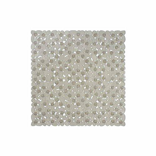 Freelance PVC Shower Mat, Bathroom Bath Tub Non Slip Grip Bathmat, (54 x 54 cm)
