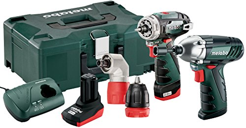 Metabo MPT108COMBON 10.8 V Li-Ion Power Maxx Applicator Quick Plus SSD Combo Set