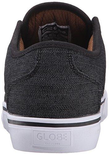 Globe Mahalo Toile Chaussure de Basket noir/denim
