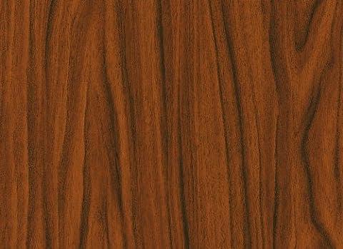 ® d-c-fix 346–0116 film plastique autocollant en vinyle imitation bois Noyer 67,5 cm x 346–8021 Doré 2 m