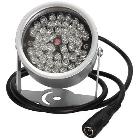 TOOGOO(R) 48-LED IR CCTV vision nocturna infrarroja iluminador