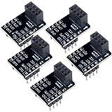 DIYnik ESP8266 ESP-01 ESP-01S Tablero de la salida Tablero de la placa de circuito impreso PCB para la red serial del transceptor de Wifi (paquete de 5pcs)