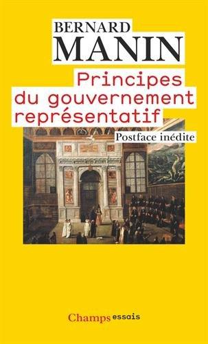 Principes du gouvernement représentatif
