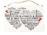 Best Unique Gifts - MissyJulia Ltd Unique Wedding Plaque Personalised Bride Groom Review