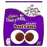 Cadbury Dairy Milk Giant Buttons Chocolate, 252 g