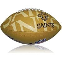Wilson Football NFL Junior New Orleans Saints Logo, Mehrfarbig, 5, WL0206654040