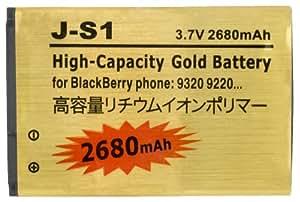 2680mAh J-S1 Batterie GOLD Haute Capacité pour Blackberry 9220 / 9310 / 9320