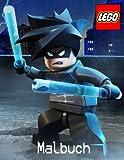 Lego Malbuch: Eine schöne 60 Seite Malbuch für Kinder ab 3 Jahren. Die neueste Zeichen von Nexo Ritter und Ninjago plus die üblichen Verdächtigen Lego Welt.