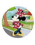 Generique - Minnie Maus-Tortenaufleger für jeden Kindergeburtstag bunt 20cm
